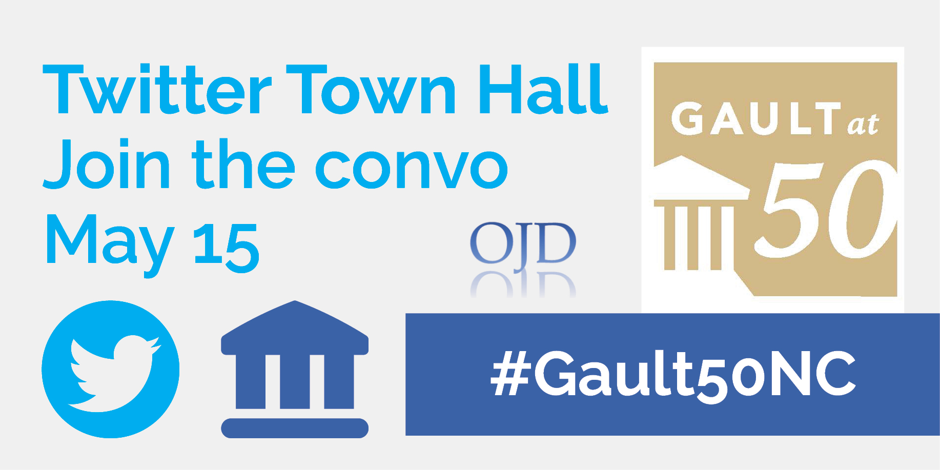 Gault50NC Twitter Town Hall
