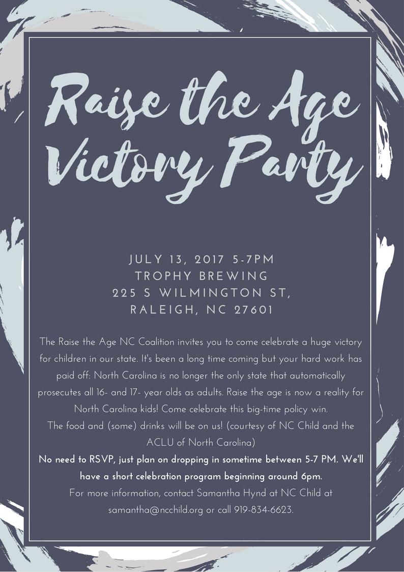 Raise the Age Invitation