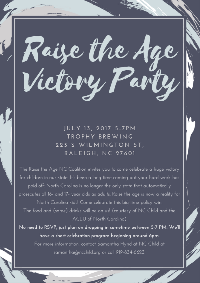 Raise the Age Invitation