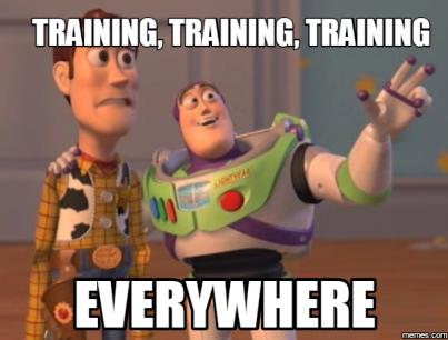 training toy story